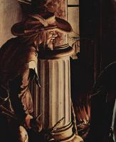 Ганс Гольбейн Младший. Алтарь Ганса Оберрида в кафедральном соборе Фрайбурга. Фрагмент