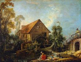 Francois Boucher. Mill