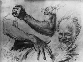 Джордж Ламберт. Руки