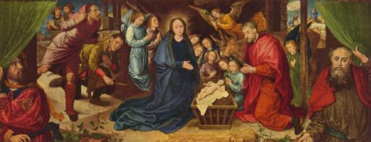 Хуго ван дер Гус. Поклонение пастухов
