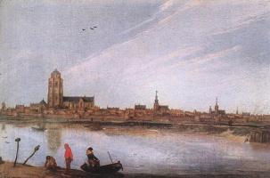 Даниэль ван Хейл. Лодка на берегу