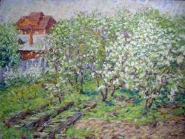 Urii Parchaikin. Цветущий сад