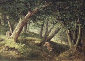 Уильям Холбрук Берд. В лесу