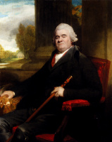 George Romney. Portrait of sir Benjamin Truman