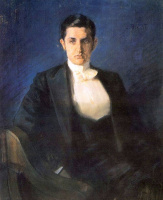 Lev Samoilovich Bakst (Leon Bakst). Portrait of the writer Dmitry Filosofova