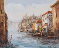 Андрей Шарабарин. Сны о Венеции N32