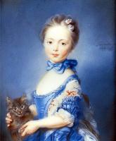 Жан-Баптист-Баптист-Баптист - Баптист Пеппоннеау. Девочка с котом