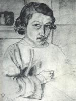 Уильям Моррис. Автопортрет