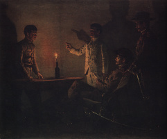 Vasily Vasilyevich Vereshchagin. The interrogation of a defector