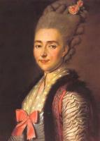Иван Петрович Аргунов. Портрет Мельгуновой Екатерины Александровны. 1777
