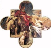 Паоло Веронезе. Церера оказывает посвящение Венеции