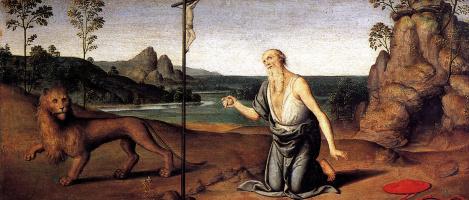 Пьетро Джованни Ди. Святой Иероним в пустыне