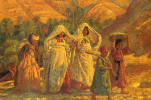 Альфонс-Этьен Дине. Арабские женщины и дети