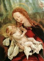 Маттиас Грюневальд. Мадонна с младенцем