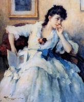 Фернан Туссен. Женщина с книгой