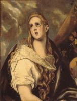 Эль Греко (Доменико Теотокопули). Кающаяся Магдалина