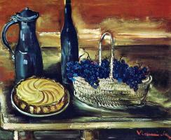 Морис де Вламинк. Корзина с виноградом