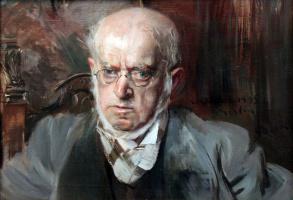 Giovanni Boldini. Artist Adolf Menzel
