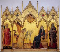 Simone Martini. The Annunciation