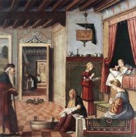 Vittore Carpaccio. The Birth Of The Virgin