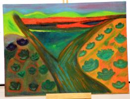 Алиса Михалева. Огороды с капустой