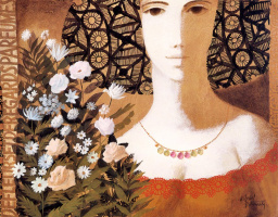 Габриэль Бонмати. Цветы и глаза
