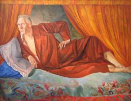 Борис Дмитриевич Григорьев. Портрет Федора Шаляпина