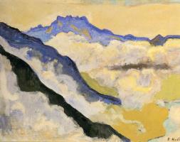 Ferdinand Hodler. Landscape