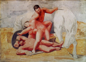Pablo Picasso. Kidnapping