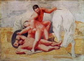 Пабло Пикассо. Похищение