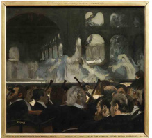 """Эдгар Дега. Балетная сцена из оперы Мейербера """"Роберт-дьявол"""""""