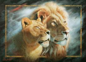 Igor Razzhivin. Power and tenderness of the savanna