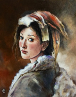 Надежда Sосновикова. Тибетская  девушка