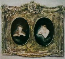 Александр Васильевич Шевченко. Парный портрет с женой. 1906