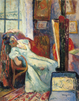 Henri Manguin. The model is resting