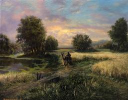 Gennady Dumov. Summer evening