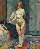 Henri Manguin. Nude with towel
