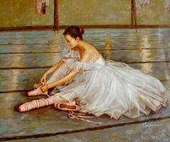 Гуань Зе-Джу. Балерина 3