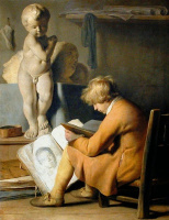 Ян Ливенс. Студент (Мальчик-ученик в студии)