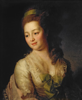 Dmitry Grigorievich Levitsky. Portrait Of Maria Alexeevna Dyakova