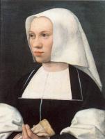 Баренд ван Орли. Портрет монашки