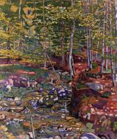 Фердинанд Ходлер. Лес в окрестностях Райхенбаха