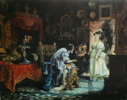 Валерий Иванович Якоби. «Любитель древностей» 1876