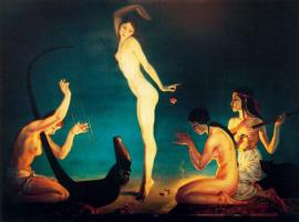 Джордж Оуэн Винн Апперлей. Танцовщица Древнего Египта