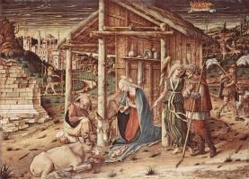 Карло Кривелли. Поклонение пастухов