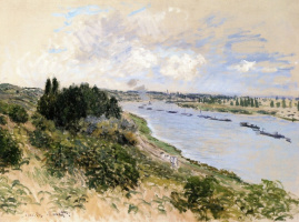 The banks of the Seine at Port Villez
