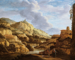Матье Дубус. Горный пейзаж 2
