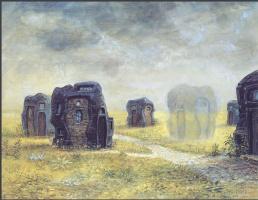 Отто Фрелло. Дом, укутанный туманом