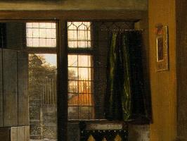 Питер де Хох. Спальня