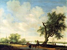 Саломон ван Рёйсдал. Пейзаж